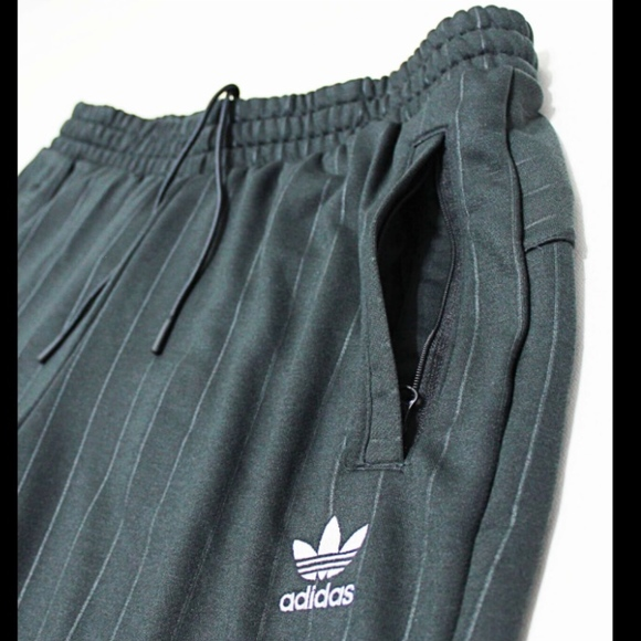 adidas Other - $80 ADIDAS Carbon Stripe Cuffed Sweatpants Joggers